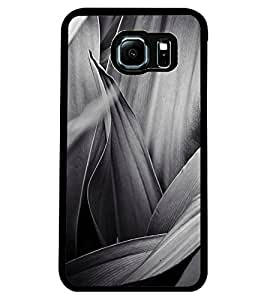 ColourCraft Beautiful Abstract Design Back Case Cover for SAMSUNG GALAXY S6 EDGE