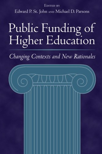 Public Funding of Higher Education: Changing Contexts and...