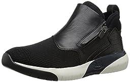 Ash Women\'s Shu Fashion Sneaker, Black/Black/Black, 38 EU/8 M US