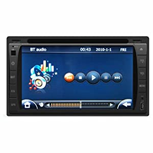 double din in dash car stereo radio dvd igo my way indir tek link