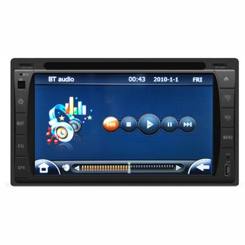 Sohang 2-din Stereo Radio DVD Player with HD 6.2