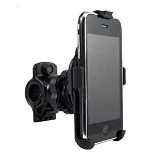 CCity Perfect Fit OEM Bike handlebar Mount for Apple IPhone 4 / 3GS / 3G Smartphones -Fits handle bars up to 1 Inch