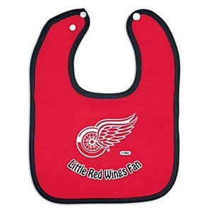 Nhl Mcarthur Detroit Red Wings Infant Little Fan Bib - Red front-1019045