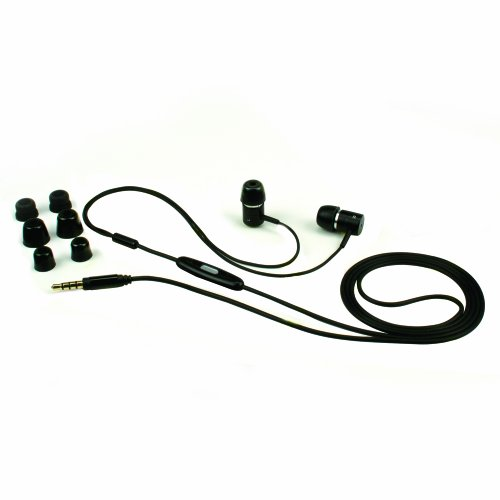 Isimple Hedfx Sound Isolating Stereo Headset With In-Line Remote And Microphone For The Iphone, Ipad Or Ipod, Ishp2501