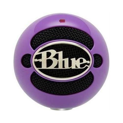 Snowball Usb Mic Neon Purple - Professional Quality Usb Mic Includes Tripod And Usb Cable Neon Purple
