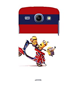 printtech Minions Scooter Back Case Cover for Samsung Galaxy J2 / Samsung Galaxy J2 J200F