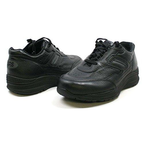 Sas Men S Diplomat Slip On Shoe Black Leather