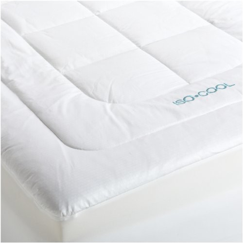 Buy Iso Cool Memory Foam Mattress Pad with Outlast Cover, Queen