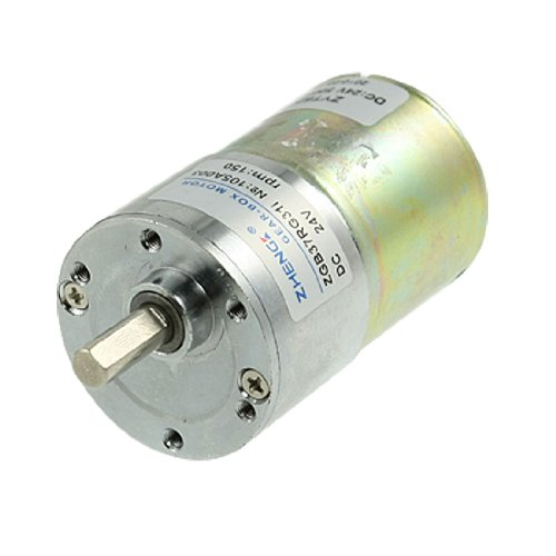 Dc 24v 150rpm high torque electric speed reducing gear box for Measuring electric motor torque