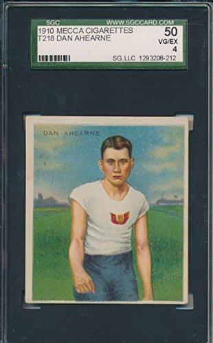 1910 T218 Mecca Cigarettes #NNO Dan Ahearne Track SGC 50 VGEX 4 35241