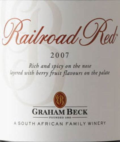 2007 Graham Beck Railroad Red 750 Ml