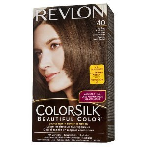Revlon Colorsilk Hair Color - Medium Ash Brown 40/4a