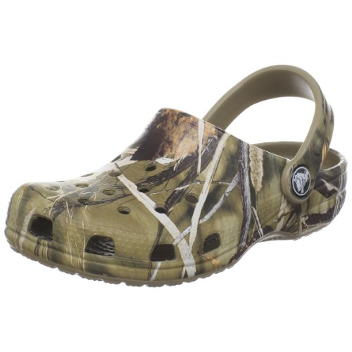 Crocs Classic Realtree V2 (Toddler/Little Kid),Realtree Khaki,12-13 M Us Little Kid front-1023097
