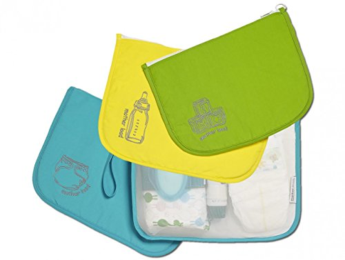 Mother Load Time on Your Side Gift Set: includes Diaper Bag, Snack Bag, and Toy Bag - 1