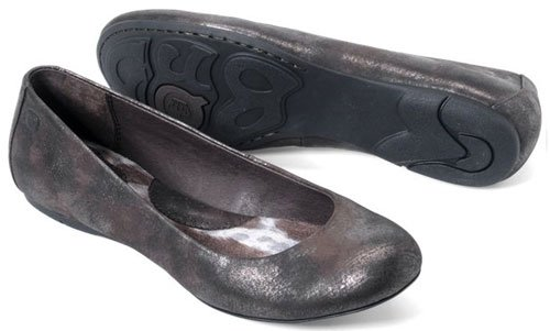 Women's Born, Alex Flat MORO METALLIC 8.5 M