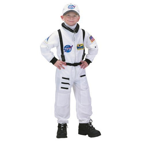 Jr. White Astronaut Suit