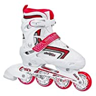 Roller Derby Girl's Cheetah S4 Adjustable Inline Roller Skates - I136G
