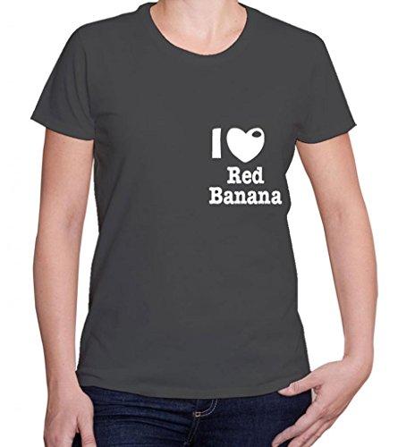 I Love Red Banana Women'S Short Sleeve Tshirt Shirt For Favorite Foods front-1044577