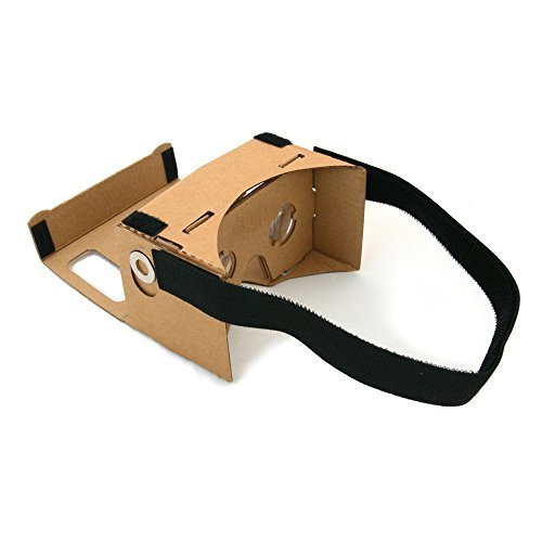 Magic Cardboard Virtual Reality Brille - Inspired by Google Cardboard - Bikonvexe...