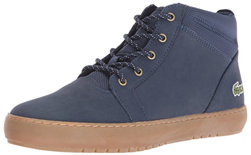 Lacoste Women's Ampthill Chukka 416 1 Spw Fashion Sneaker, Navy, 7 M US