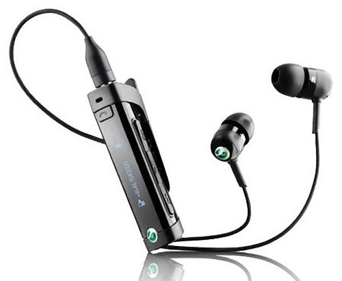Sony Ericsson Mw600 A2Dp Avrcp Fm Radio Music Stereo Bluetooth Headset - Black