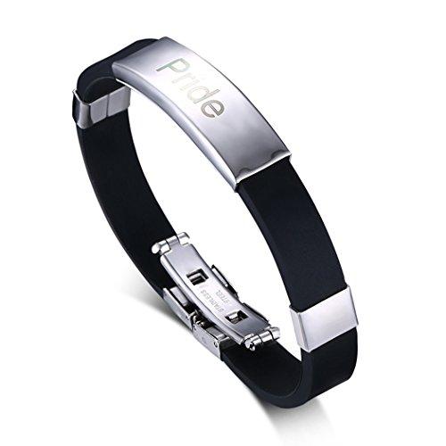yc-top-personalizzato-incisione-in-acciaio-inox-nero-silicone-braccialetto-da-uomo