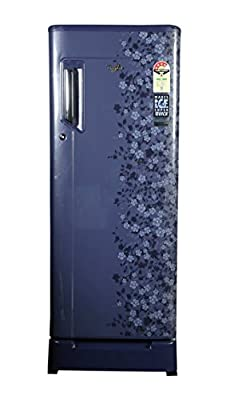 Whirlpool 230 IMFR Roy Direct-cool Single Door Refrigerator (215 Ltrs, 4 Star Rating, Sapphire Exotica)