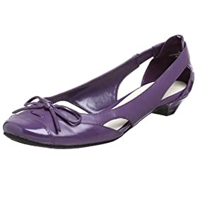 Nine West Women's Clemeneta Dress Flat - Free Overnight Shipping & Return Shipping: Endless.com :  purple nine west dress flats flats