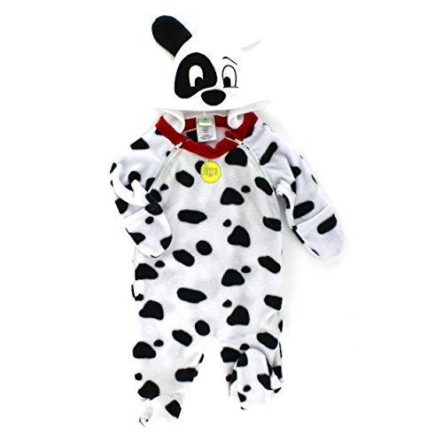 101 Dalmatians Infant One-Piece Fleece Costume Pram