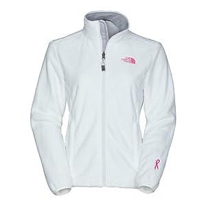 Amazon.com: The North Face Pink Ribbon Osito Womens Jacket X-Large TNF
