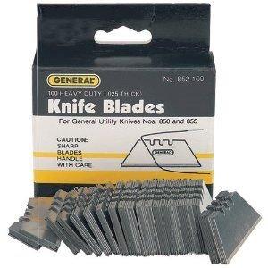 General Tools 852-100 Heavy-Duty Utility Knife Blades