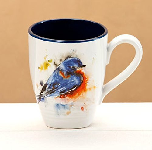 Big Sky Carvers Bluebird Mug 16 Oz (Detail Carver compare prices)