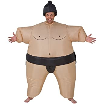 Gemmy - Inflatable Sumo Adult Costume - One-Size