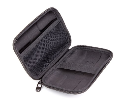 DURAGADGET Impact Resistant Clam Shell Style External Hard Drive Case For Buffalo Ministation