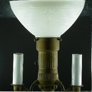 Upgradelights Floor Lamp Globe Glass Diffuser IES Replacement 10'