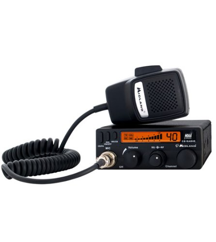 Midland 1001LWX CB Radio with Weather Scan