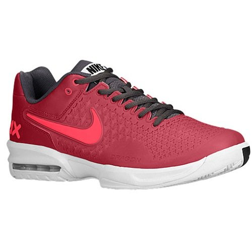 New Nike Men'S Air Max Cage Tennis Shoes Red/Hyper Punch 9.5
