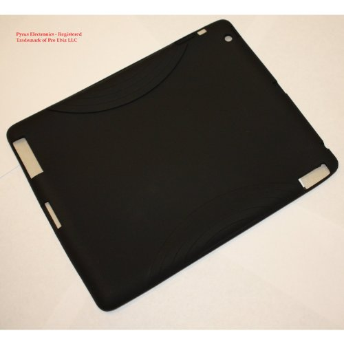 Pyrus Electronics (TM) Silicon Skin Case for Apple iPad 2 2nd Generation - Black