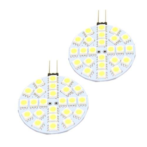 Generic G4 24-Led 3528Smd Led Spotlight Rv Marine Car Light Bulb Lamp 12V Color White