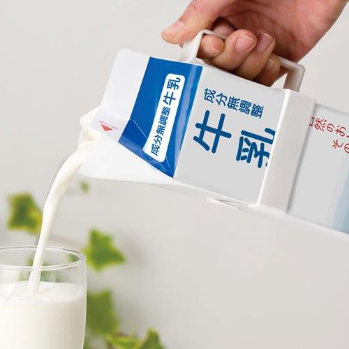 朝は牛乳がおすすめ