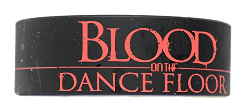 Licenses Products Blood On The Dance Floor Logo Rubber Wristband - 1