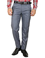 Larwa Men's Flat Front Trouser - B015PQS3L6