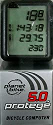 Planet Bike Protege 5.0 5-Function Bike Computer with 4-Line Display from Planet Bike