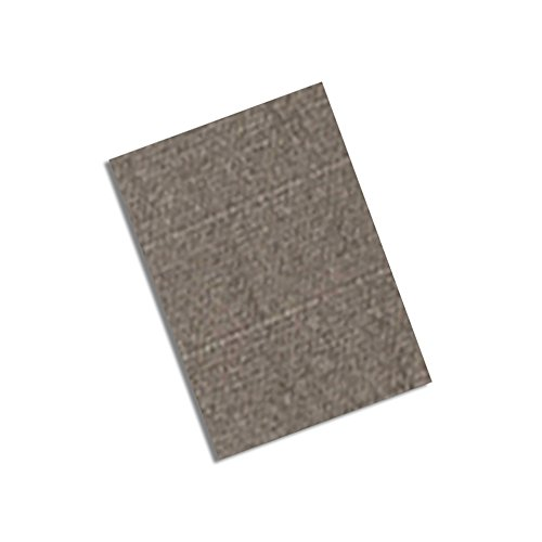 "Tapecase 3M Cn3490 1.5"" X 3""-100 Gray Non-Woven Conductive Fabric Tape, 3"" Length, 1.5"" Width, Rectangles (Pack Of 100)"