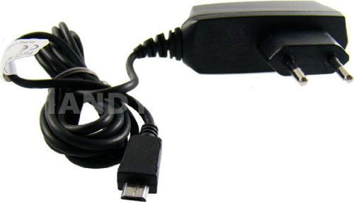 Click to buy caseroxx Micro USB Cable EU plug mains Charger Samsung B2710 100 - 240 volts - From only $349