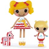 Lalaloopsy Mini Littles Doll, Spot Splatter Splash/Scribbles Splash