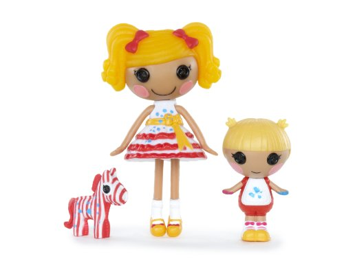 Lalaloopsy Mini Littles Doll, Spot Splatter Splash/Scribbles Splash - 1