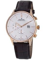 Edox Men's 91001 37R AIR Les Vauberts Chronograph Watch