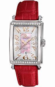 Gevril Women's 6208RT Glamour Automatic Pink Diamond Watch from Gevril