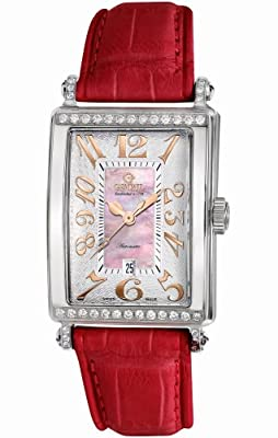 Gevril Women's 6208RT Glamour Automatic Pink Diamond Watch